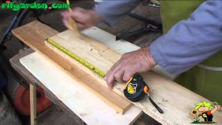 Building a nesting box for birds