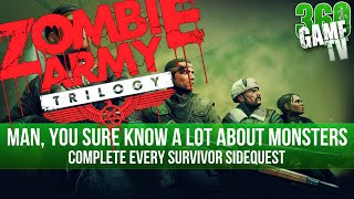 Zombie Army Trilogy - All Survivor Sidequest Locations - Man, you sure know a lot about monsters