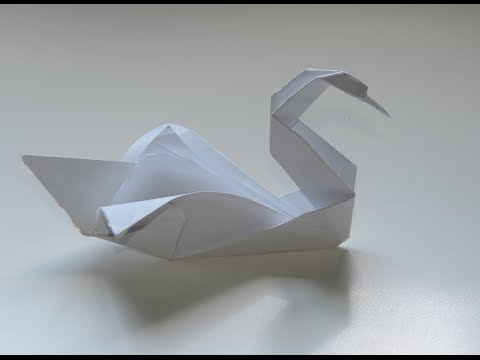 how to make an origami swan intermediate robs world