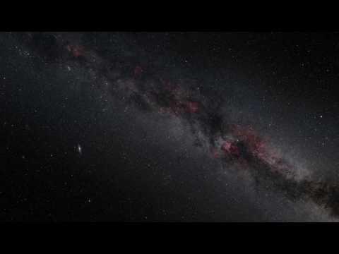 Zooming in Andromeda galaxy HD