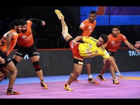 Pro Kabaddi 2018 Highlights | U Mumba vs Gujarat Fortunegiants | Hindi