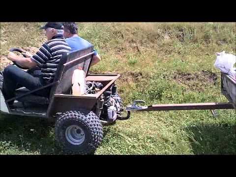 видео: три самодельные машинки