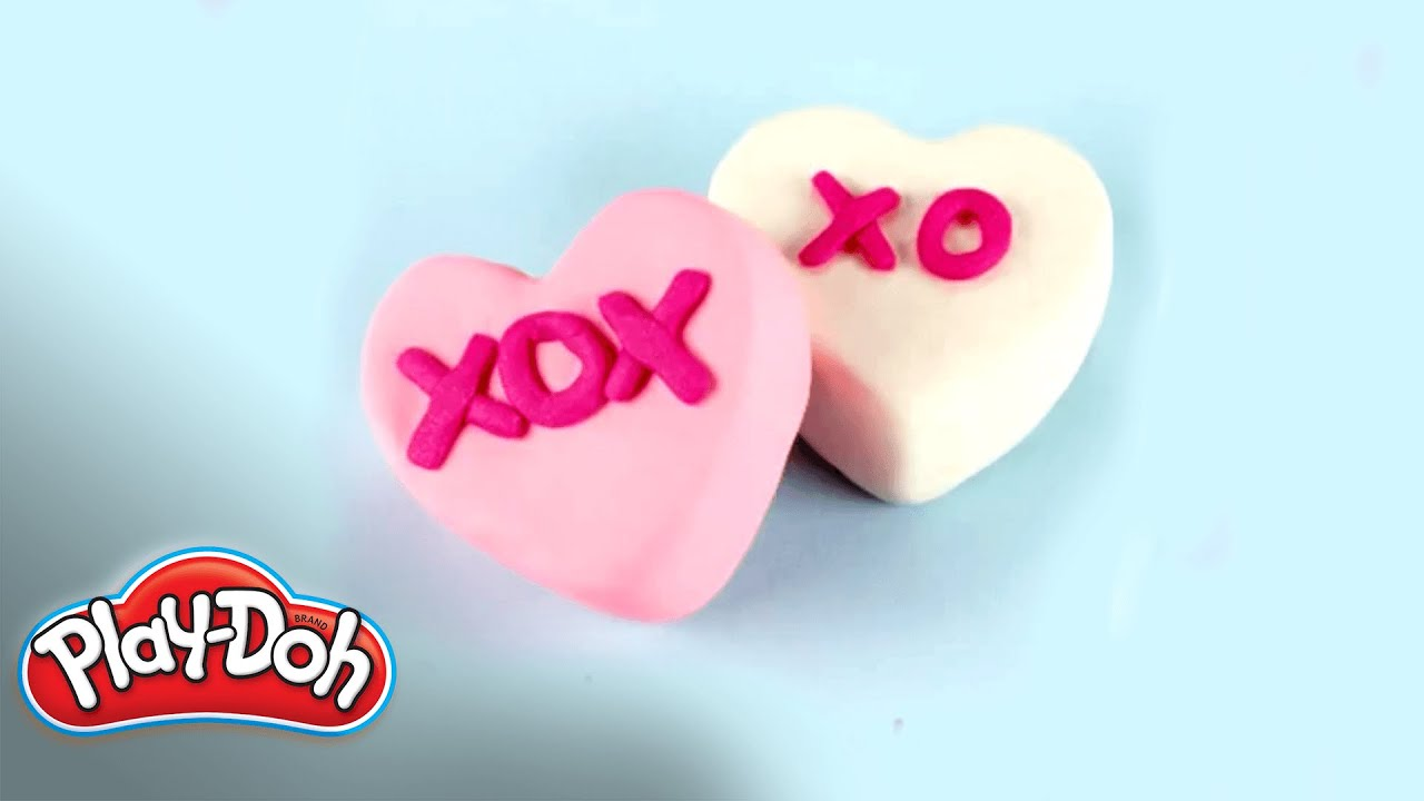 Play Doh How To Make A Candy Heart