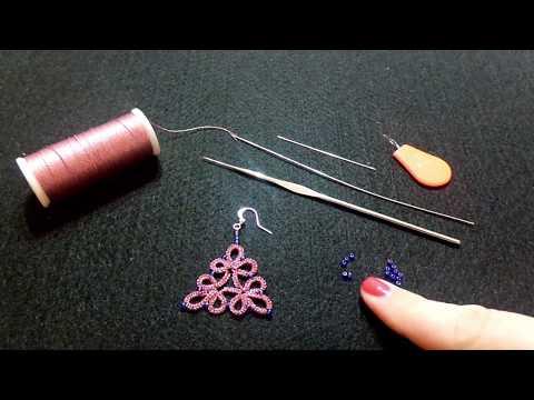 arriva nuovo codice coupon super carino Chiacchierino Ad Ago - 10° Tutorial Orecchini Diamant - Needle ...