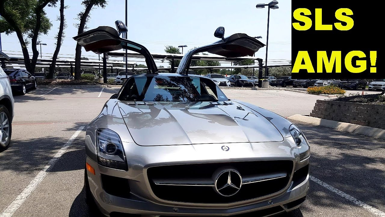 2012 Mercedes Benz Sls Amg With Gullwing Doors Quick