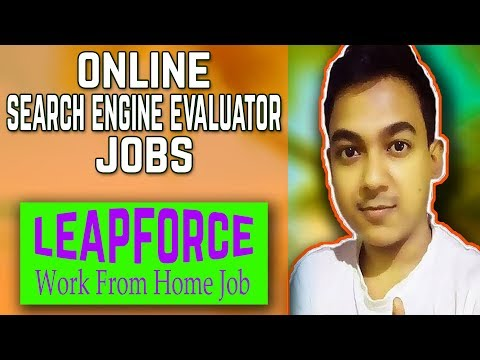 Search Engine Evaluator Jobs By Leapforce  Work From Home Online 