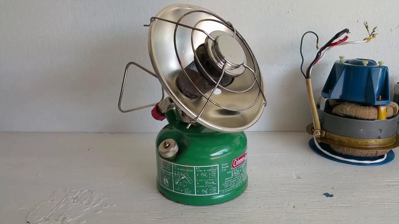 Coleman 519 Radiant Heater Easi-Light