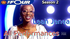 LEAH JENEA ALL PERFORMANCES The Four Season 2