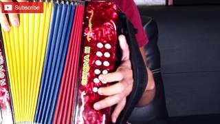 Como tocar Bajos 5) Bajos en Puya | Tutorial de Acordeón