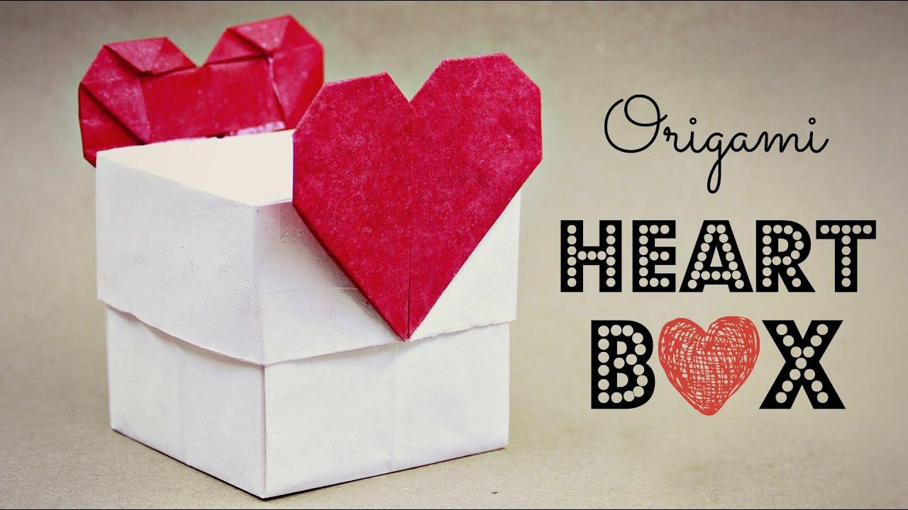 How to make an origami Heart box (Tadashi Mori) - YouTube - photo#13