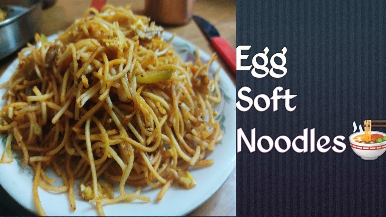 Best Egg soft noodles???? // How to make Egg Soft Noodles in