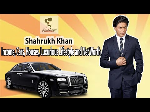 Shahrukh Khan's  Income, Houses, Cars, Luxurious Lifestyle and Net Worth | Celebrity Lifestyle