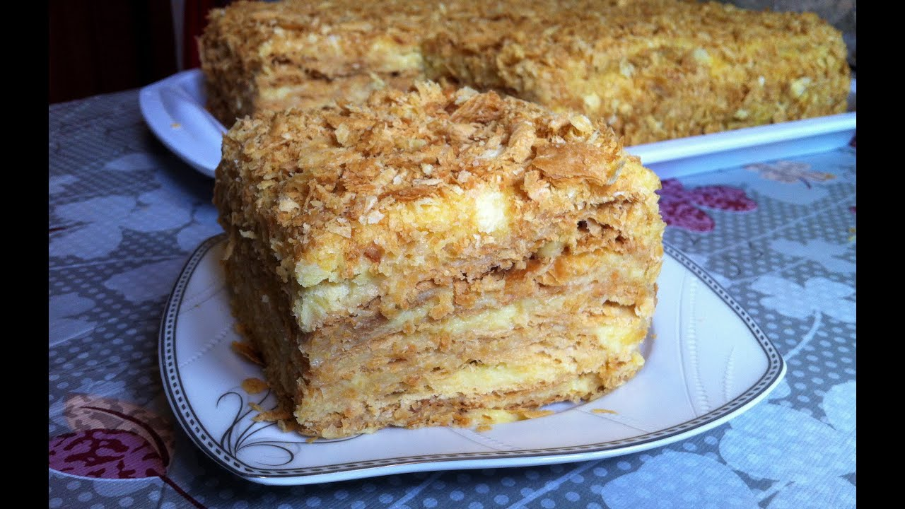 торт наполеон рецепт не сладкий пошаговый рецепт