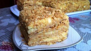 """Торт """"Наполеон"""" / Napoleon Cake / Домашний Торт / Простой Пошаговый Рецепт"""