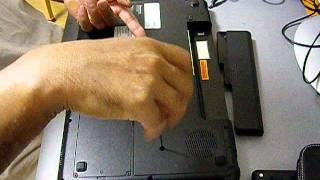 Optical drive removal - Lenovo G550