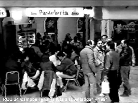 Documental: En la ruta a la Antártida - El ROU 24 Campbell en marzo de 1991