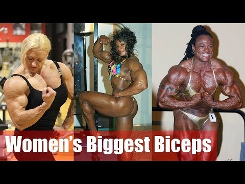 Top 5 females with crazy biceps