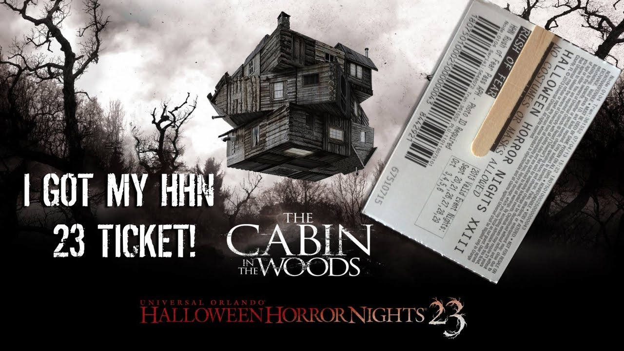 i got my halloween horror nights hhn 23 2013 ticket youtube - Halloween Horror Nights Free Tickets