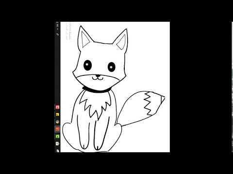 رسم ثعلب بطريقة سهلة وخطوات بسيطة تعلم رسم ثعلب Youtube