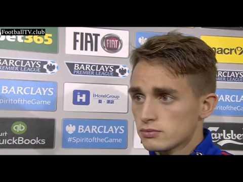 Aston Villa vs Manchester United 0   1   Adnan Januzaj & Daley Blind post match interview