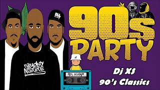 90s Throwback Classics - Dj XS Old School Party Mix Part 1 (RnB, Hip Hop & Funky House)