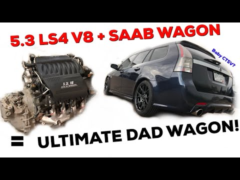 Pt.1 LS Swapping the DAD WAGON! | Chevrolet  LS4 5.3 V8 303hp!