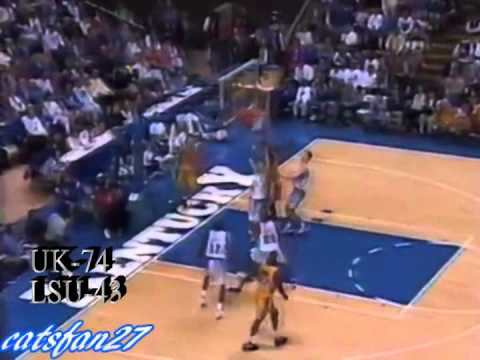 Cats Classics: Kentucky vs. LSU 3/4/95