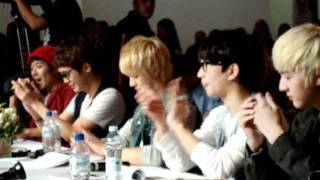 110907 mblaq in brazil whatching cry and shock by mblaq b2st