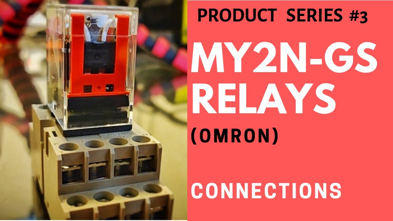 Omron My2n Gs Relays Ll Connections