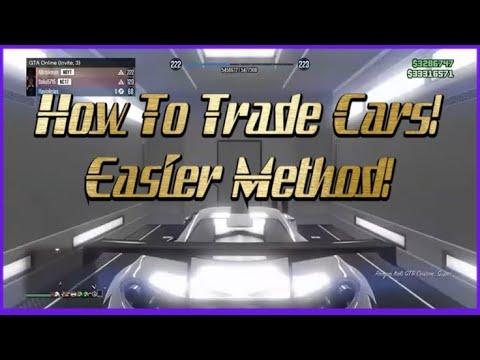 *EASIER METHOD* How To Trade Cars in GTA 5!