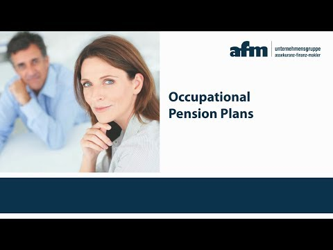 Occupational Pension Plan