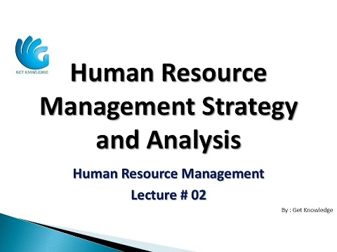 The Manager's Role in Strategic Human Resource Management (Lecture 02) | HR Management