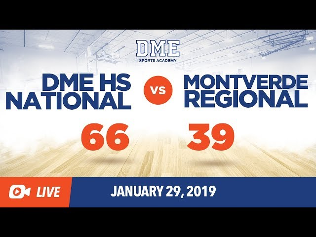 Montverde Regional vs HS National