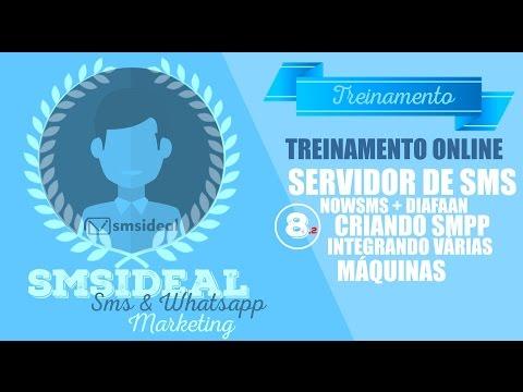 Treinamento SMSIDEAL - Servidor de SMS com NowSMS e Diafann