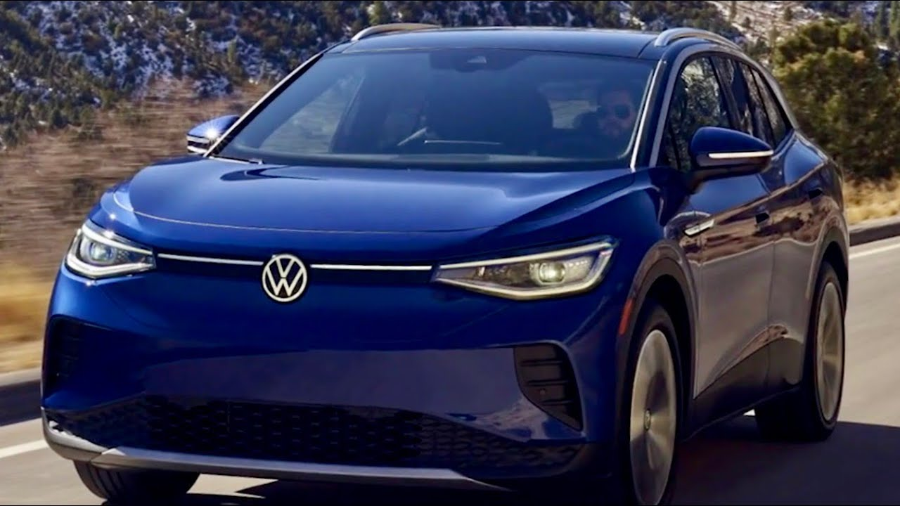 Volkswagen takes on the EV Market with a New all-electric SUV called the ID.4