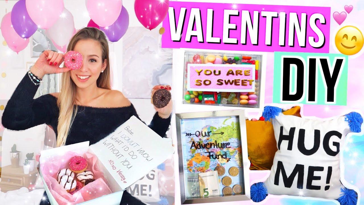 DIY VALENTINSTAG GESCHENKIDEEN 💕 Valentinstag 2018 schnell und einfach! #1