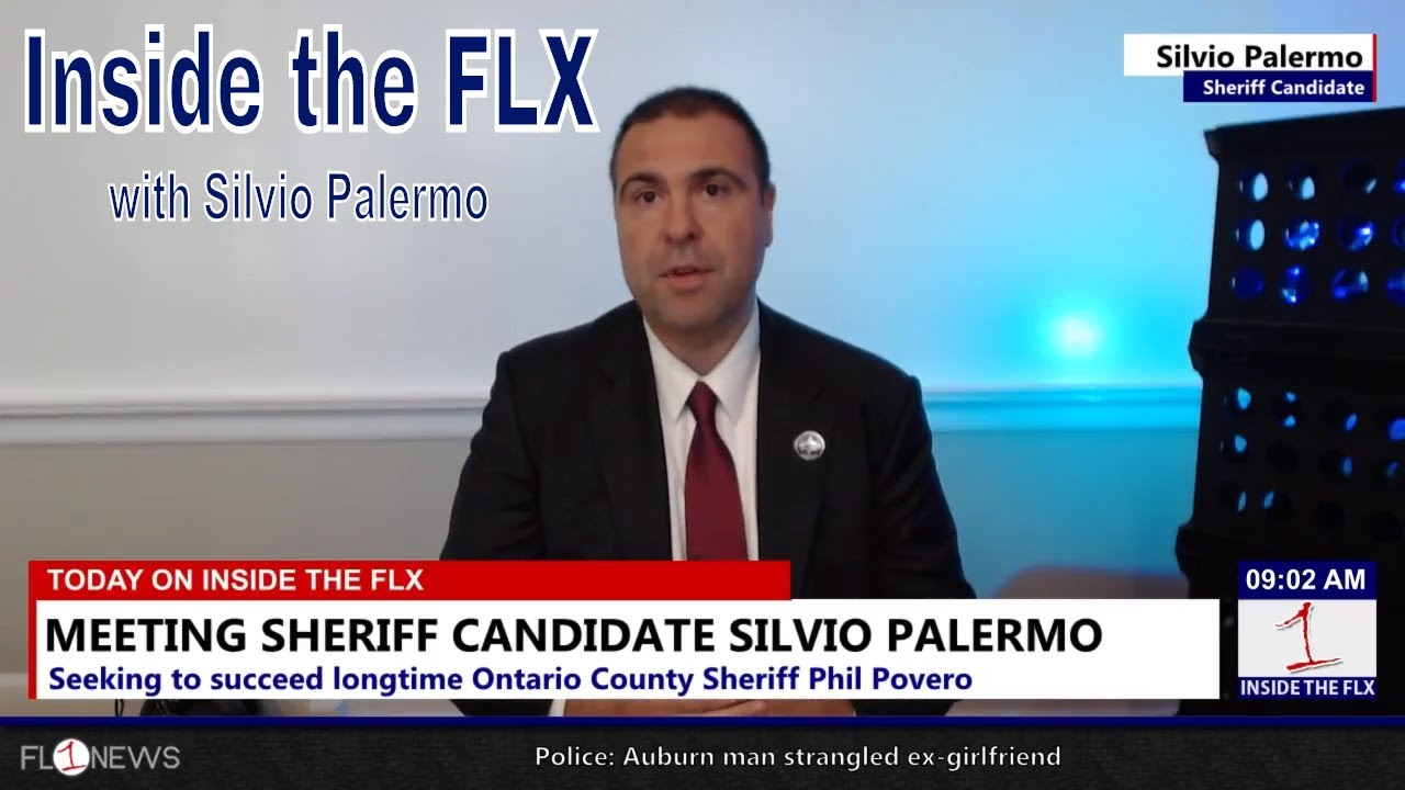 Candidate for Ontario Sheriff Silvio Palermo talks campaign .::. Inside the FLX 8/23/18