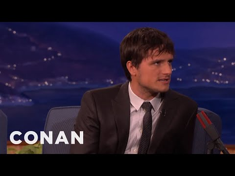 Josh Hutcherson On His Crazy Super-Fans  - CONAN on TBS