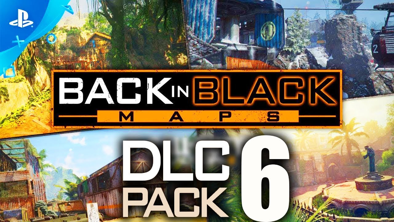 BLACK OPS 3 DLC 6 GAMEPLAY: ALL REMASTERED MAPS & NEW ZOMBIES GUN! (BO3 DLC  6)