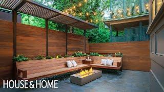 Outdoor Overhaul: City Garden Goes From Simple To Striking