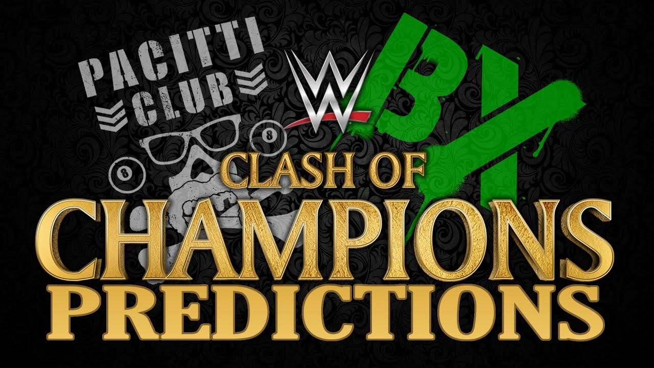 Download BX Vs Pacitti Club #9: WWE Clash of Champions 2016 Predictions