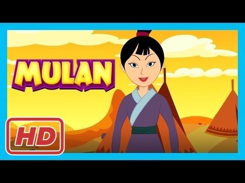 Mulan - Full Story For Kids    Disney Princess - A Cool School Storybook  
