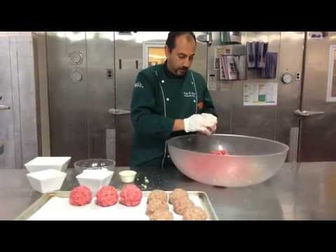 How Buca di Beppo makes their meatballs!