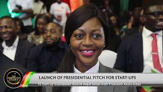 Presidential Diary: Presidential Pitch, Illegal Mining, Ashesi Graduation