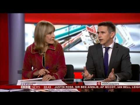 LYNN FAULDS-WOOD:-: BBC NEWS - the papers - 26 Nov 2013 -