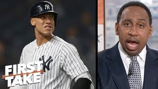 Stephen A. rips Aaron Judge, Luis Severino in Yankees\' blowout loss to Red Sox | First Take