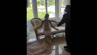 Танец с туфелькой невесты / Брат надевает невесте туфельку / Армянская свадьба в Ереване 2018