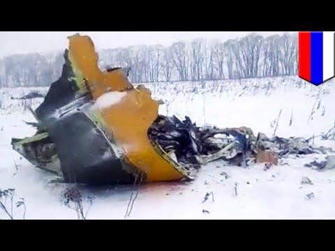 Russian plane crash: 71 perish after Saratov Airlines flight 703 crashes near Moscow - TomoNews