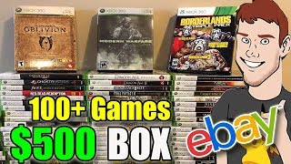 I Bought A $500 Mystery Box of Xbox 360 Games Off Ebay - This Is What I Got