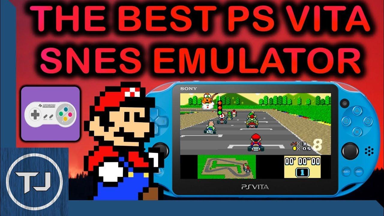 The Best SNES Emulator For PS Vita! (CATSFC-Libretro)